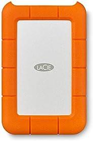 LaCie Rugged Mini 1TB External Hard Drive Portable HDD – USB 3.0 USB 2.0 compatible, Drop Shock Dust Rain Resi