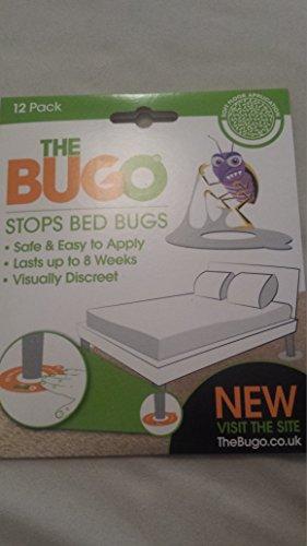 Seegras Sisal Teppich (The Bugo Bettwanzenfalle für weichen Untergrund 12er Pack)