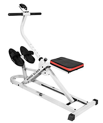 Christopeit Horse Glider Fitnessbike weiß M