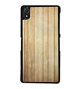 Fuson Amazing Wood Design Designer Back Case Cover for Sony Xperia Z1 :: Sony Xperia Z1 L39h :: Sony Xperia Z1 C6902/L39h :: Sony Xperia Z1 C6903 :: Sony Xperia Z1 C6906 :: Sony Xperia Z1 C6943 (Ethnic Pattern Patterns Floral Decorative Abstact Love Lovely Beauty)
