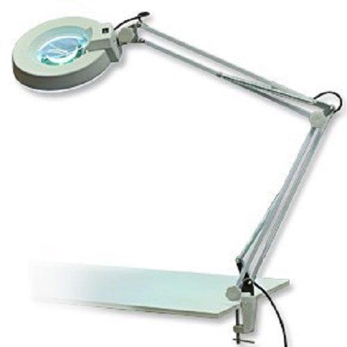 Laron Lupen Lampe Tisch Maniküre Vergrößerung 8 Dioptrien S3201 (Licht Lampe Lupe)