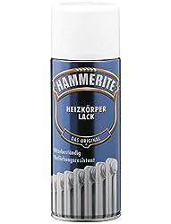 400 ml Hammerite Heizkörperlack Spraylack Weiß, Glanz