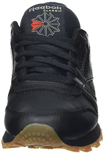 Reebok Classic, Baskets Basses Mixte Adulte Noir (Black/Gum)
