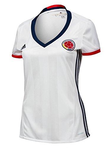 adidas Kolumbien Home Frauen 'S Soccer Jersey Copa America Centenario 2016, - Fußball Kolumbien Adidas