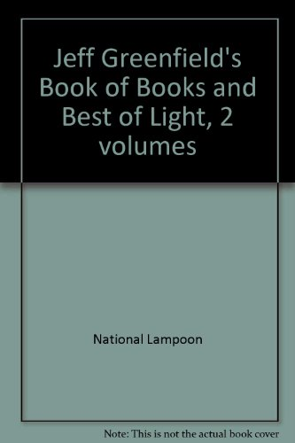 Jeff Greenfield's Book of Books and Best of Light, 2 volumes