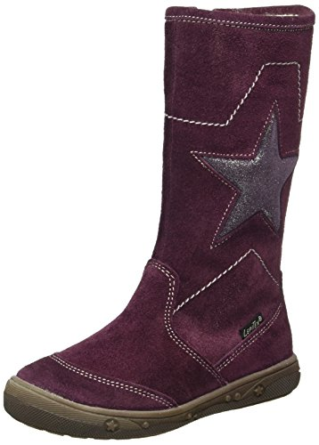 Lepi 4065LES, Les bottes fille Violet - Violett (4065 C.05 BORDO')