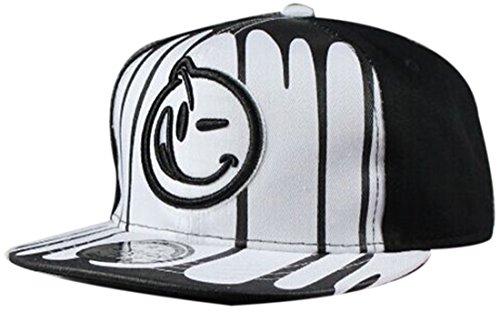 Belsen Kind habgierig Hip-Hop Cap Baseball Kappe Hut Truckers Hat (Tuch weiß) (Weißes Tuch Cap)