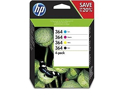 Cartouche HP 364 Pack (Couleur + Noire) de HP - Housses , Chargeurs , Kindle & Fire, Etuis , Téléphone Mobile, PC Portable, Tablette