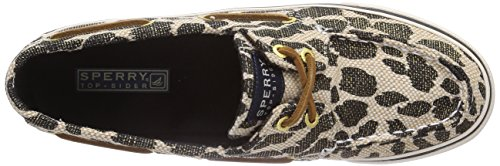 Sperry Bahama 2-eye Prints, Sneakers basses femme Noir - Schwarz (BLACK/LINEN)