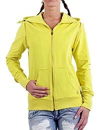 MET Mujer con Capucha Chaleco Yesh Melon Yellow 10dml0165