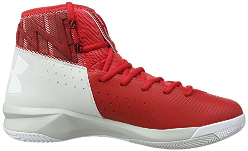 Under Armour Ua Rocket 2, Chaussures de Basketball Homme Rouge (Rouge 600)