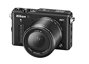 Nikon 1 AW1 Interchangeable Lens Camera with 11-27.5mm Lens Kit - Black