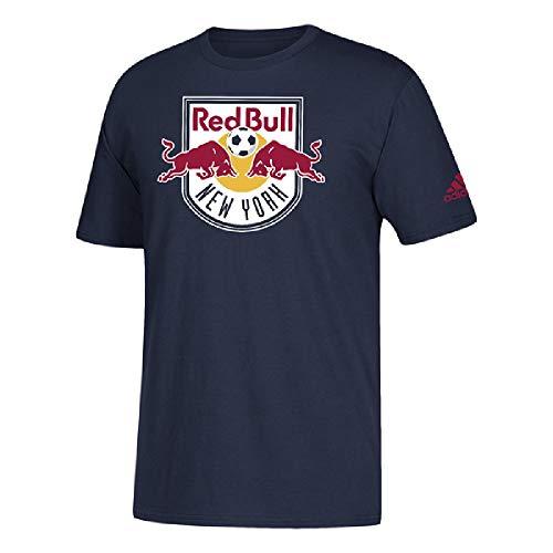 adidas Herren New York Red Bulls Team Primary Logo T-Shirt, Herren, Navy, XX-Large (Fifa World Cup 2014 Ball)