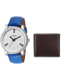 Mikado Exclusive Men's Watch And Wallet Combo For Men's And Boy's