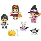 Pin'Y'Pon 700009685 - Juego de 6 figuritas, diseño de brujas
