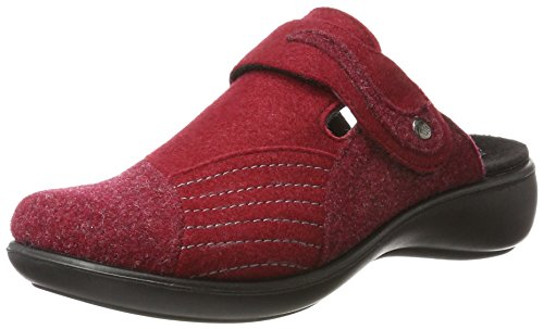 Romika Damen Ibiza Home 306 Pantoffeln, Rot 400, 39 EU