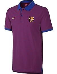Nike Fcb Auth Gs Polo Manga Corta Línea F.C. Barcelona, Hombre, Azul (Game Royal / True Red / University Gold), 2XL