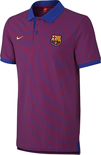 Nike Herren Training Trikot (NIKE 2016/2017 FC Barcelona polo shirt Grand Slam Slim)