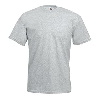 Fruit of the Loom - Classic T-Shirt 'Value Weight' 3XL,Heather Grey