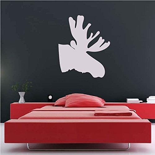 Moose Silhouette Wall Sticker animale Adesivo Art disponibile in 5