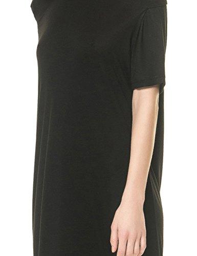 Cheap Monday Women's Sway Women's Black Midi Dress Viscose Black