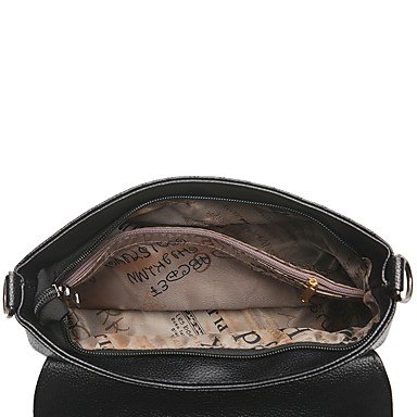 Womens Fashion Classic Crossbody Bag,rosso Black