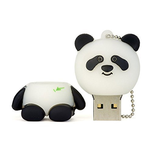 niceEshop(TM) Kreativ 8GB Panda Form USB Flash Drive Sticks, Schwarz und Weiß