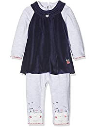 3 Pommes Baby Girls' Cute Little Cat Clothing Set