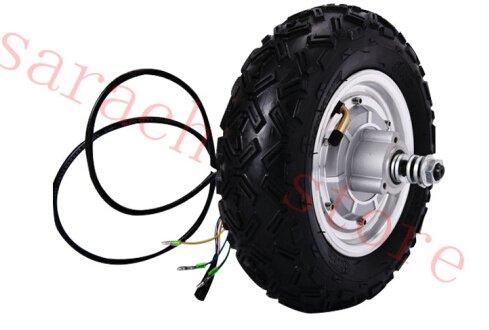 sarach store 10 zoll 800 watt 36 v elektrische fahrrad kit elektroroller motor elektrische skateboard motor