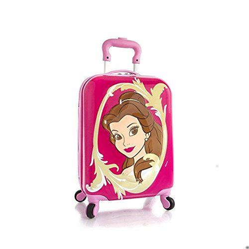 disney-princess-brand-new-classic-designed-3d-spinner-wheeled-push-button-handle-frameless-pink-excl