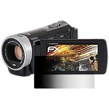 atFoliX Filtro de Privacidad JVC GZ-E305BEU Película de Privacidad - FX-Undercover