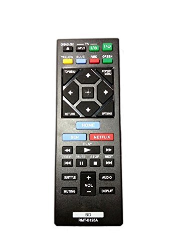 RMT-B126A Replaced Remote Control for Sony BD BDP-BX320 BDP-BX520 BDP-BX620 BDP-S1200 Blu-Ray DVD Player  available at amazon for Rs.1999