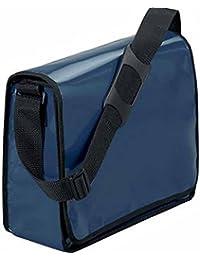 HALFAR - sac sacoche bandoulière porte documents 1802814 - bleu marine - mixte homme / femme