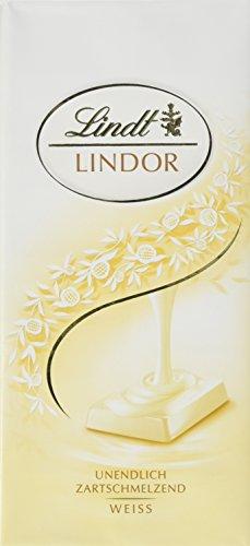 Lindt & Sprüngli Lindor weiss, 4er Pack (4 x 100 g)