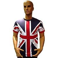 Tour Collection Union Jack Kids Flag T-Shirts London Team GB Kids (12-13yr Kids T Shirt)