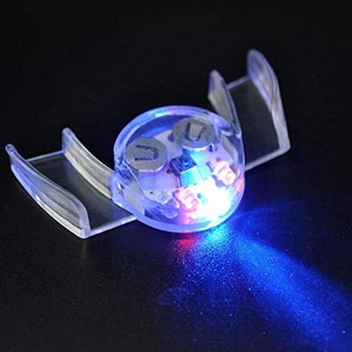 dryujdytru Multifunktion LED Beleuchtung Blink Mundstück Leuchtende Zähne für Halloween-Party Rave Ereignis - Bild Farbe