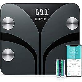 Bilancia Pesa Persona Digitale, Bilancia Impedenziometrica, BMI, Grasso Corporeo, Massa Ossea 180kg / 400lb