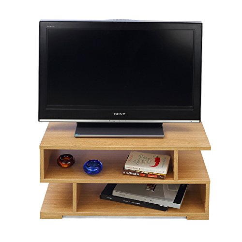 Forzza Daniel TV Unit Small (Matt Finish, Teak)