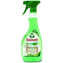 Rainett  Pistolet Vitres  L'Alcool Ecologique  l'alcool Ecolabel  500 ml  Lot de 4