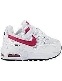 Nike Sneakers niña Air Max Command Flex (TD) White/Sport fucsia de Black