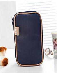Bolsa de cosméticos joyas caja vs doble cara portátil–bolsa de aseo Organizador Bolsa de viaje para anillos pendientes collar