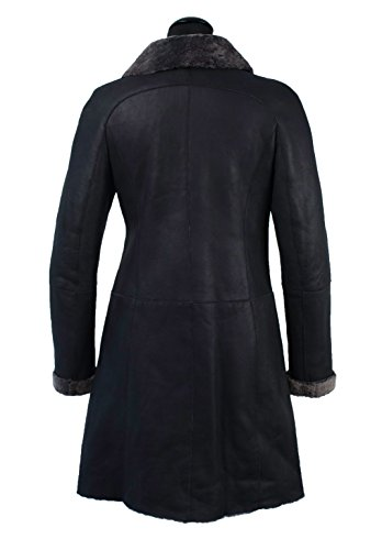 TUZZI Damen Shearling taillierter Lammfellmantel (s)