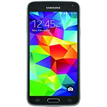 Samsung Galaxy S5 SM-G900T - Smartphone T-Mobile libre Android (pantalla 5.1 Pulgadas, cámara 16 MP, 16 GB, 4G, Quad-Core 2.5 GHz, 2 GB RAM), Negro