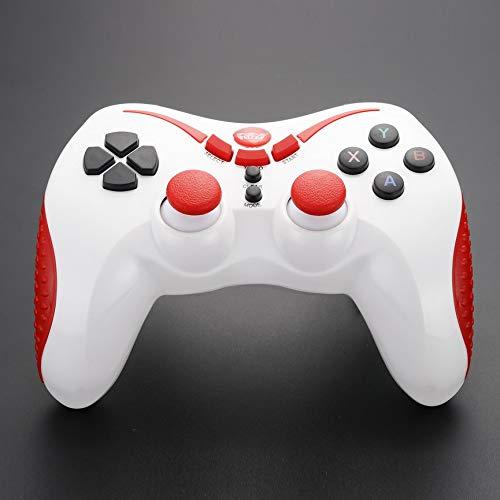 WELCOM-821S kabelgebundener Gamepad-Controller für PC / PS3 / Android - weiß rot