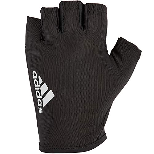 Adidas Essential Unisex Handschuh, Schwarz/Weiß, M