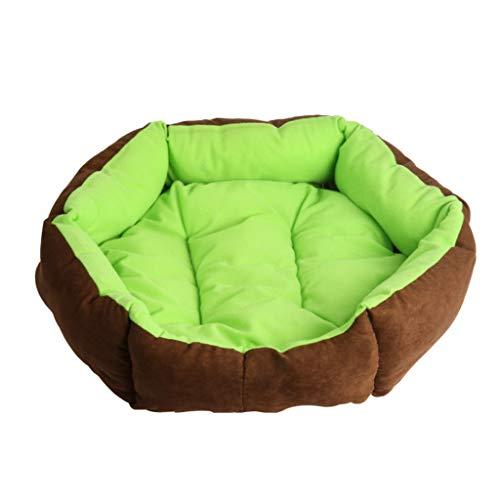 Liuyu · Casa de la Vida Emerald Hexagonal Pet Nest Four Seasons Universal Extraíble y Lavable Pequeño...