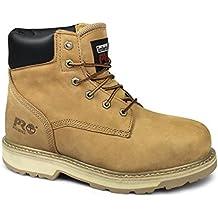 Timberland Pro Tradicional Para Hombre resistente al botas de seguridad trigo