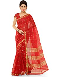 Kvsfab Women's Cotton Silk Saree [KVSSR1247-_KLYN_2]