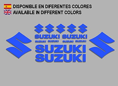 pegatinas-suzuki-f191-stickers-aufkleber-decals-adesivi-moto-bike-azul-blue