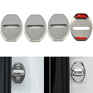PolarLander 4Pcs / Lot Auto-Anreden-Tür-Verschluss-schützende Abdeckung Auto-Zusätze Korrosionsschutz